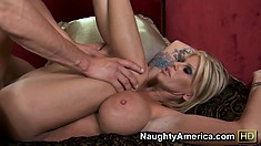 Olivia fucks the hell out off that depressed and famished gentleman