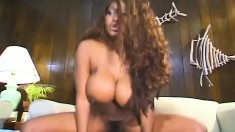 Xtacy Sucks On Cuba's Rod And Gets It Shoved Up Her Butthole