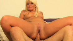 Sex hungry whore Summer is double penetrated, goes anal and gets a DP