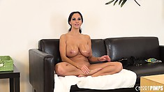 Ava Addams has such a leaky fanny a towel is required to soak up the mess