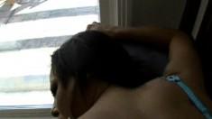 Sophia Summer gets a balls deep stuffing after a POV blowjob