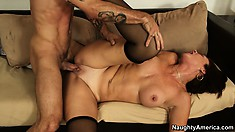 Vanessa Videl is eager to receive anal joy from such a super stud