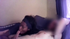 Party Ebony Amateur At Blowjob Group Sucking On Dick