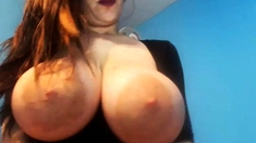 Hot boy jerk big cock on webcam show