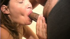 Mature sluts are in heaven getting a bunch of cocks poking them