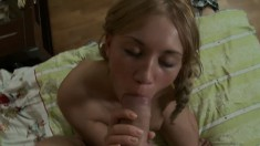 Perfect freshie Lexa gets to feel a mighty prick inside her tiny ass